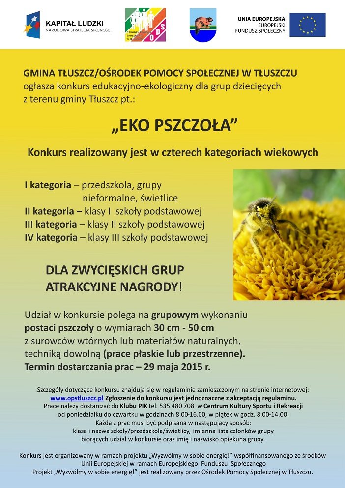 Konkurs Eko Pszczoła