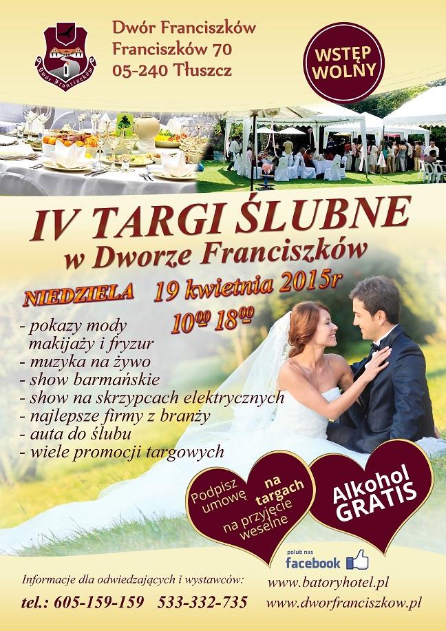 IV Targi Ślubne w Dworze Franciszków